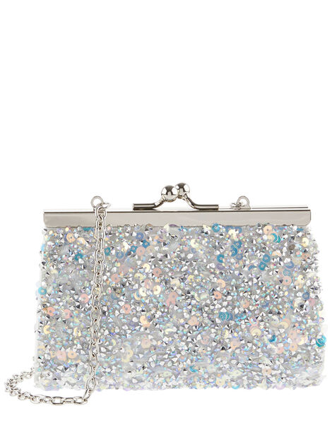 Dazzle Embellished Mini Bag, , large