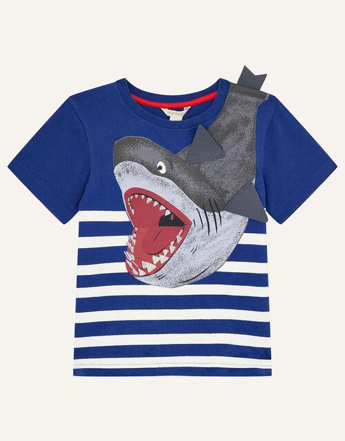 Shark T-Shirt, Blue (BLUE), large