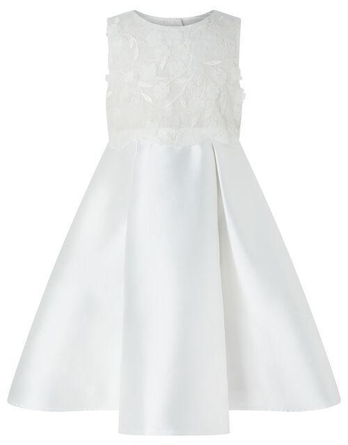 Anika Sparkle Occasion Dress, Ivory (IVORY), large