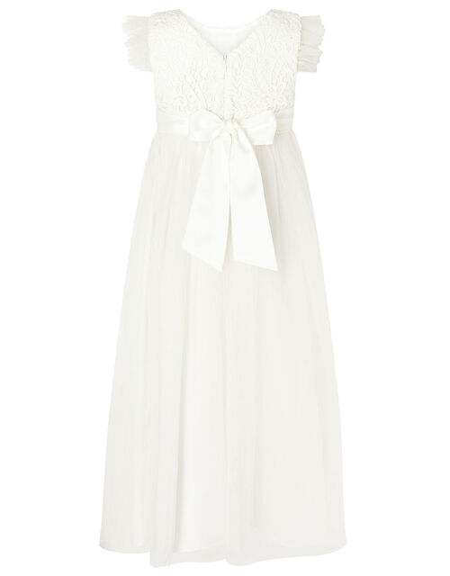 Crochet Maxi Dress, Ivory (IVORY), large