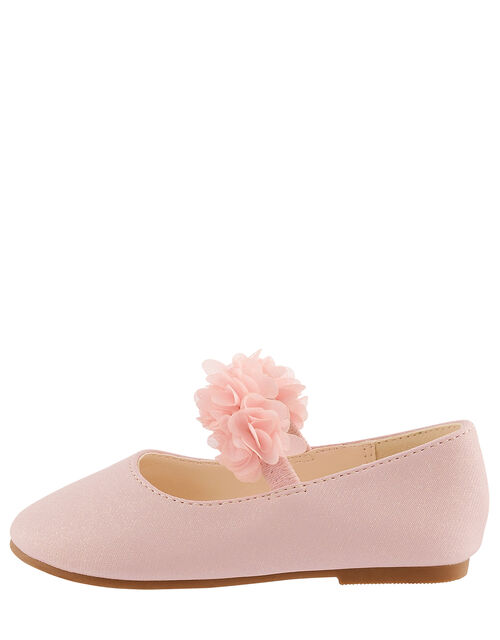 Baby Cynthia Corsage Walker Shoes, Pink (PINK), large
