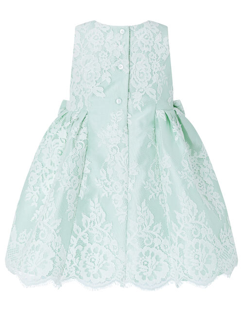 Baby Valeria Lace Occasion Dress, Green (MINT), large