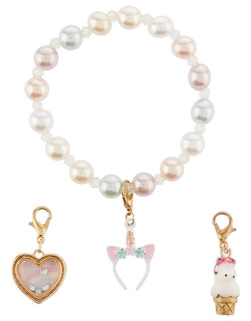 Unicorn Changeable Charm Bracelet, , large