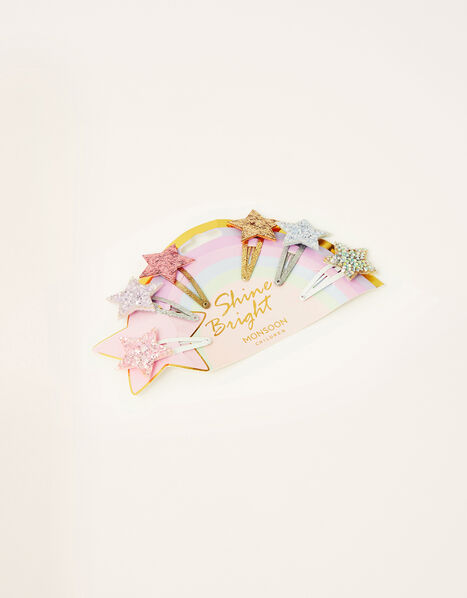 Shine Bright Star Hair Clip Multipack, , large