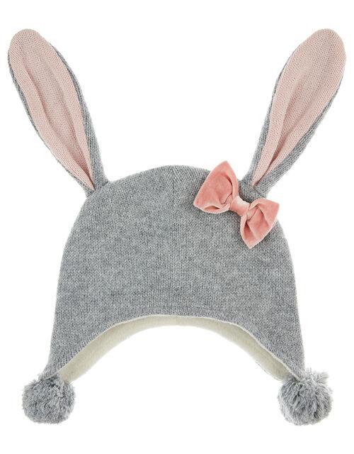 Baby Ellie Floppy Bunny Ears Nepal, Grey (GREY), large