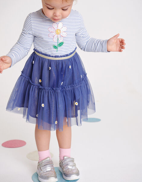 Baby Daisy 2-in-1 Dress  Blue, Blue (NAVY), large