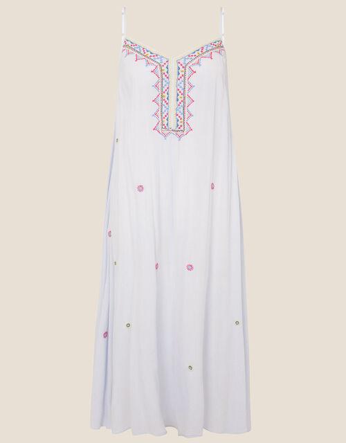 Lana Embroidered Dress , Blue (BLUE), large