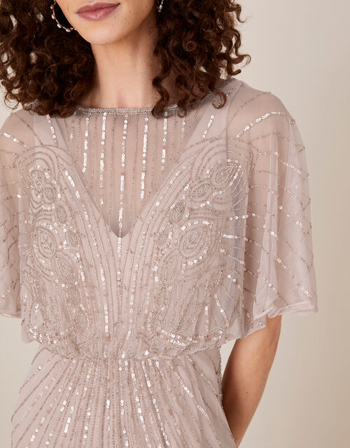 Taylor Embellished Maxi Dress, Pink (PINK), large