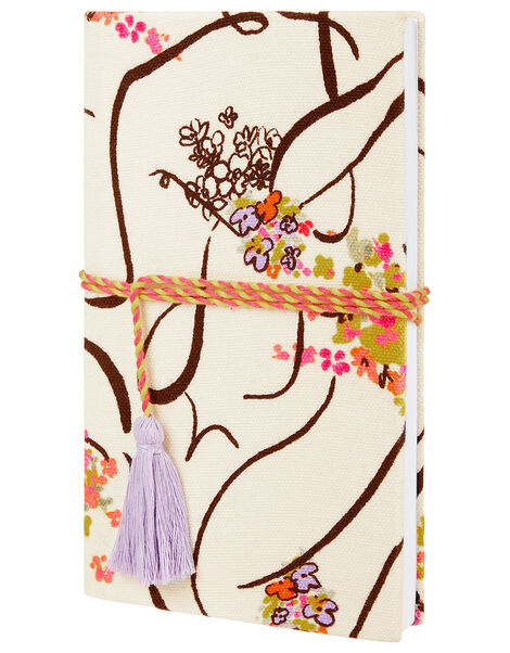 Lady Garden Printed Notebook with Organic Cotton, , large