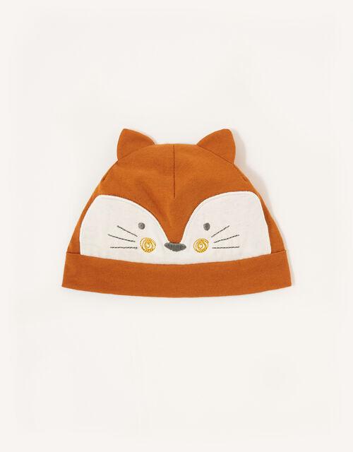 Baby Fox Hat, Orange (ORANGE), large