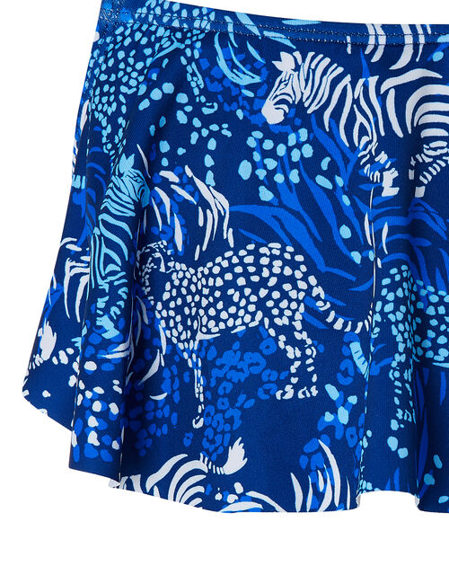 Sadie Zebra Bikini with Recycled Polyester, Blue (BLUE), large