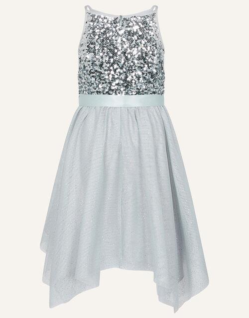Truth Ombre Hanky Hem Dress, Grey (GREY), large
