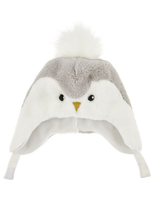 Baby Fluffy Penguin Nepal, Grey (GREY), large