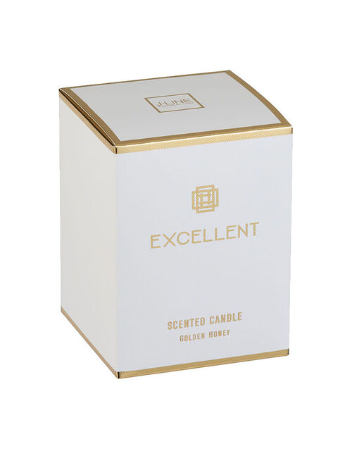 Golden Honey Scented Candle, , large