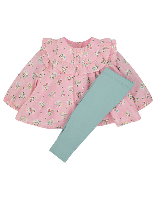 Baby Ditsy Woven Set , Pink (PINK), large