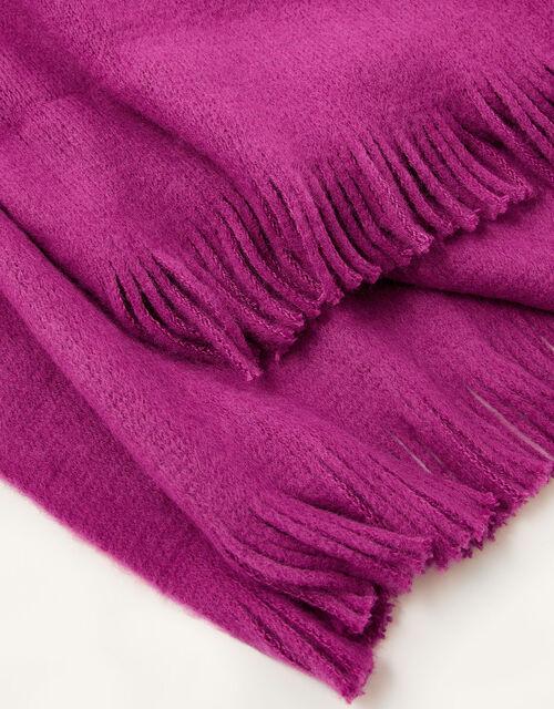 Midweight Tassel Scarf, Pink (PINK), large