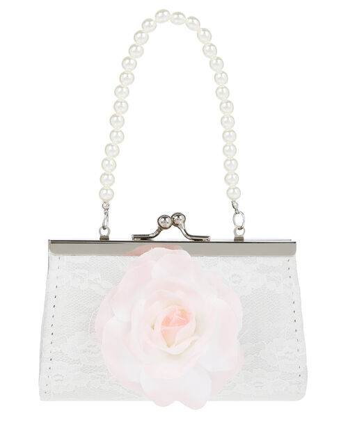 Chrissy Flower Mini Bag and Headband Set, , large