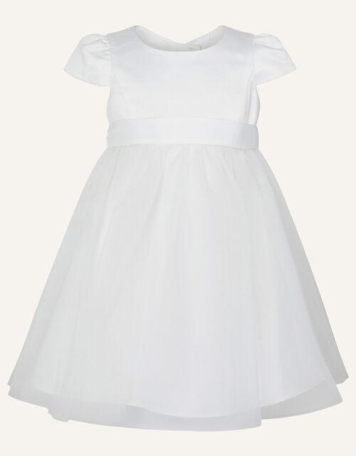 Baby Tulle Skirt Bridesmaid Dress, Ivory (IVORY), large