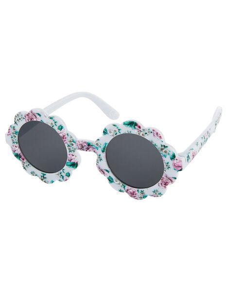 Baby Leena Floral Sunglasses, , large