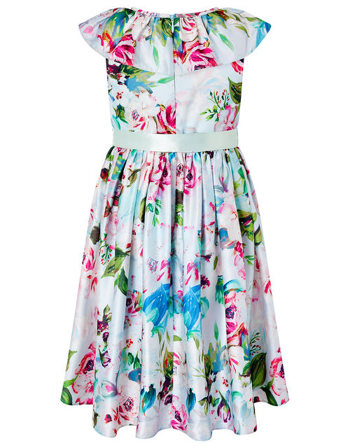 Heidi Floral Dress in Recycled Fabric, Multi (MULTI), large