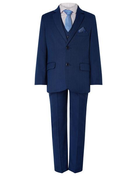 Jake Five-Piece Suit Set Blue, Blue (BLUE), large