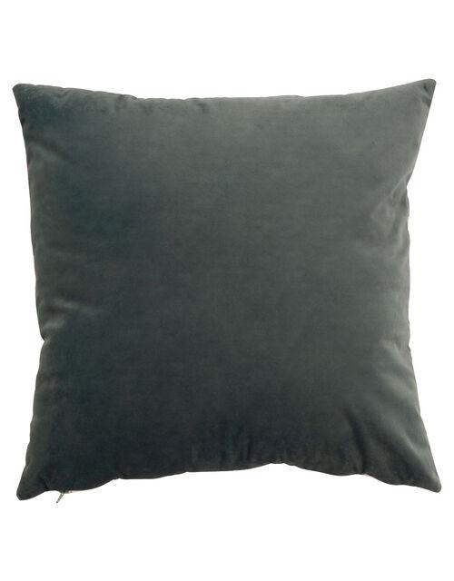 Floral Velvet Cushion, , large