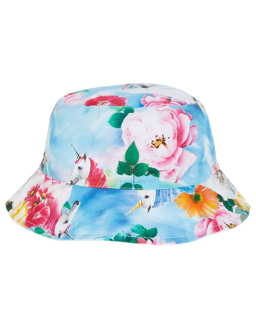 Felicity Unicorn Tie Dye Reversible Hat, Multi (MULTI), large