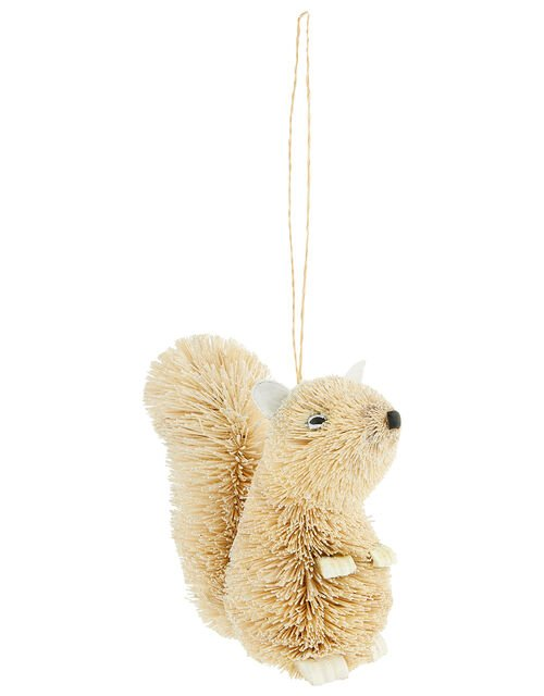 Bristle Squirrel Christmas Tree Decoration, , large