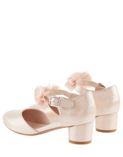 Textured Corsage Heels , Pink (PINK), large