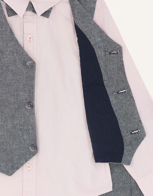 Four-Piece Suit Set, Grey (GREY), large