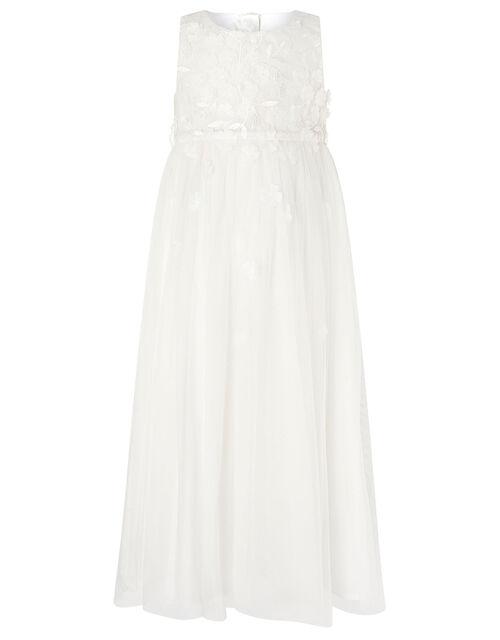 Petunia 3D Petal Maxi Dress , Ivory (IVORY), large