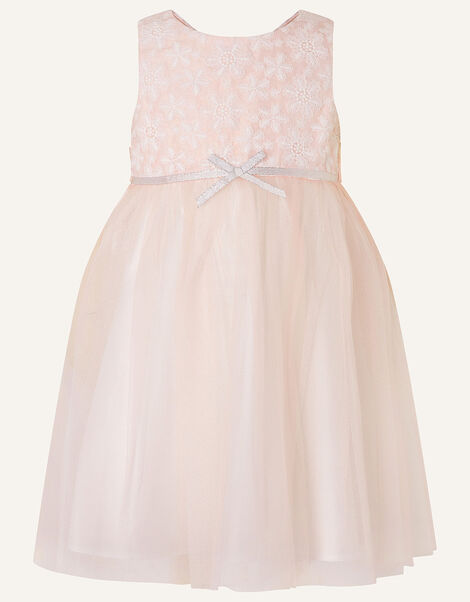 Baby Lace Tulle Dress  Pink, Pink (PINK), large