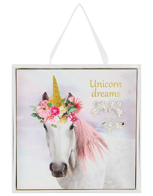 Unicorn Dreams Jewellery Card and Gift Box, , large