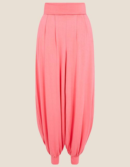 LOUNGE Heidi Jersey Hareem Trousers , Orange (CORAL), large