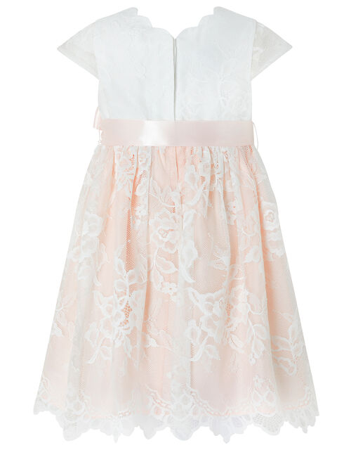 Baby Artoise Lace Occasion Dress, Pink (PALE PINK), large
