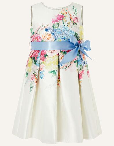 Baby Floral Print Dress  Ivory, Ivory (IVORY), large