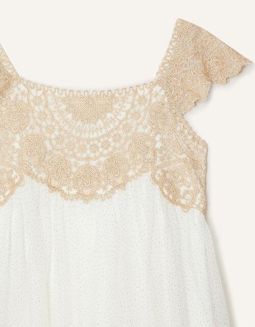Estella Shimmer Dress, Gold (GOLD), large
