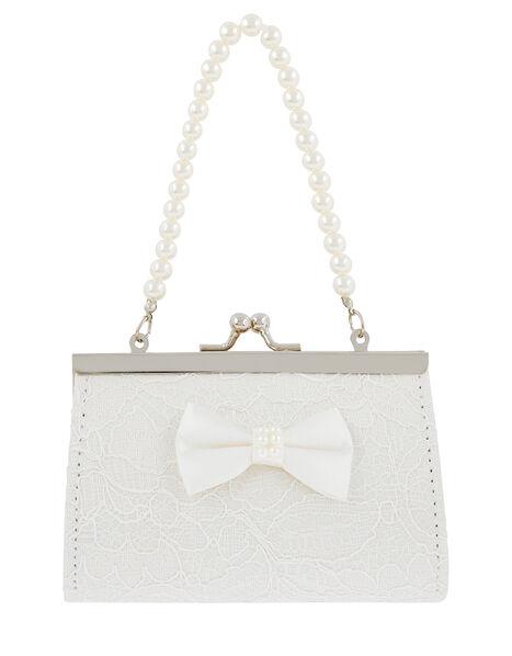 Lara Lace Bow Mini Bag, , large