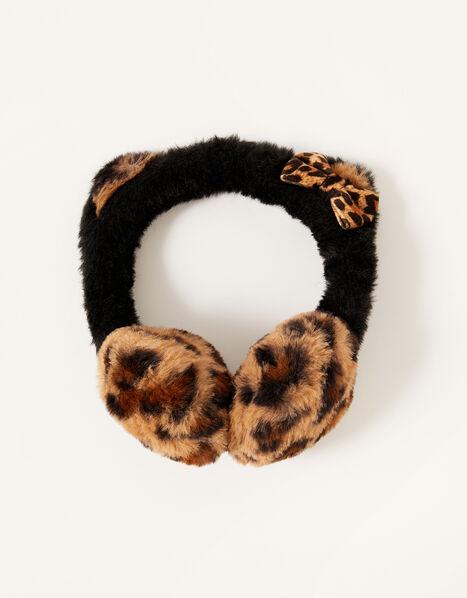 Leopard Cat Earmuffs, , large