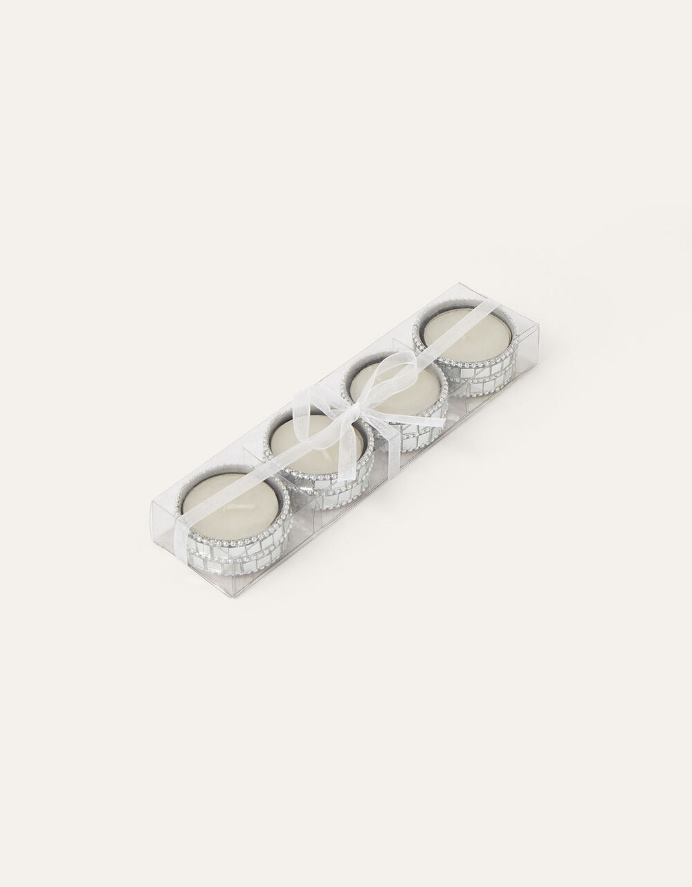 Mirrored Shellac Candle Set, , large