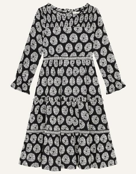 MINI ME Ella Circle Print Dress Black, Black (BLACK), large