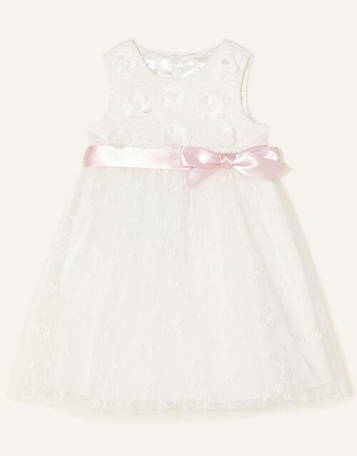 Baby Athena Embroidered Dress , Ivory (IVORY), large