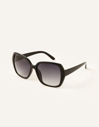 Wilda Oversized Sunglasses Black, Black (BLACK), large
