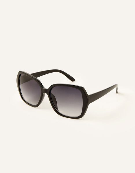 Wilda Oversized Sunglasses Black, Black (BLACK), large