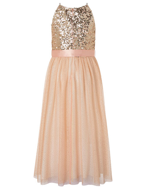 Truth Sequin Sparkle Maxi Dress, Pink (PINK), large