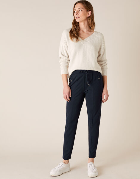 LOUNGE Layla Trousers Blue, Blue (NAVY), large