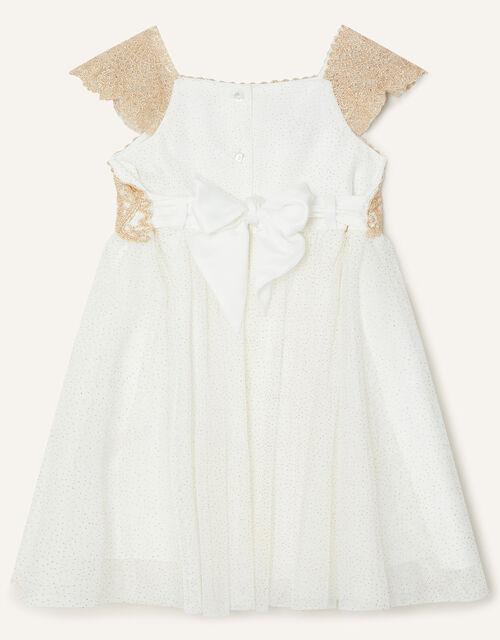 Baby Estella Dress, Gold (GOLD), large