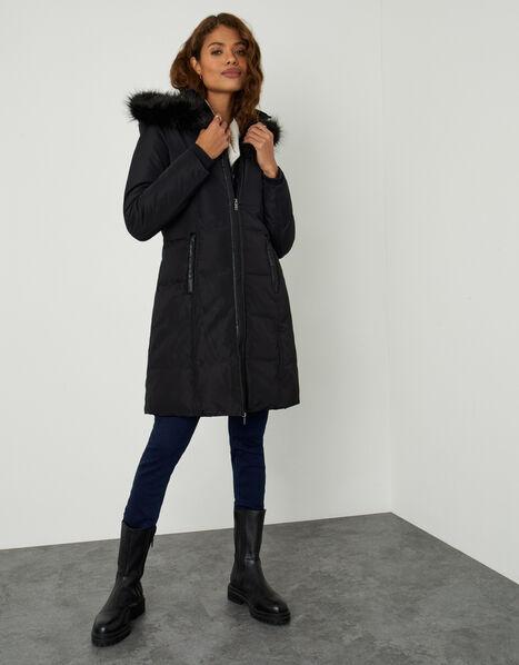 Phoenix Padded Coat Black, Black (BLACK), large