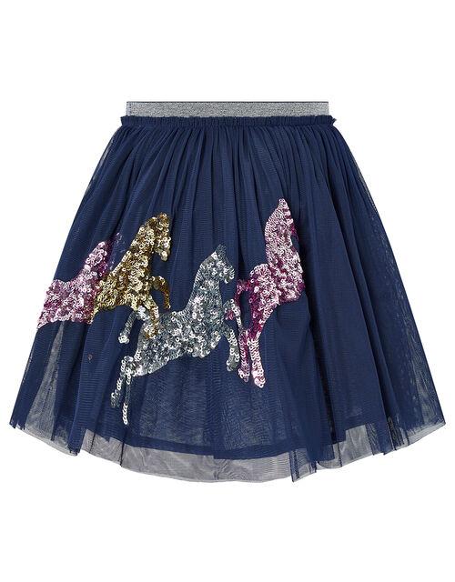 Disco Jessie Horse Tutu Skirt, Blue (NAVY), large