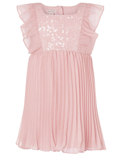 Baby Sequin Frill Dress Pink, Pink (PINK), large